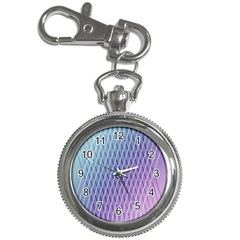 Abstract Lines Background Key Chain Watches
