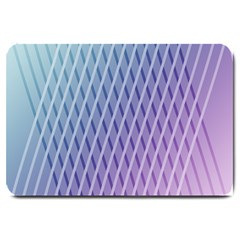 Abstract Lines Background Large Doormat