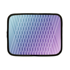 Abstract Lines Background Netbook Case (small)  by Simbadda