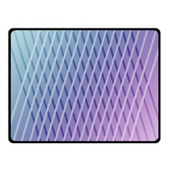 Abstract Lines Background Fleece Blanket (small)