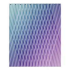 Abstract Lines Background Shower Curtain 60  X 72  (medium)  by Simbadda
