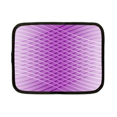 Abstract Lines Background Pattern Netbook Case (small)  by Simbadda