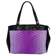 Abstract Lines Background Pattern Office Handbags by Simbadda