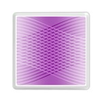 Abstract Lines Background Pattern Memory Card Reader (Square)  Front
