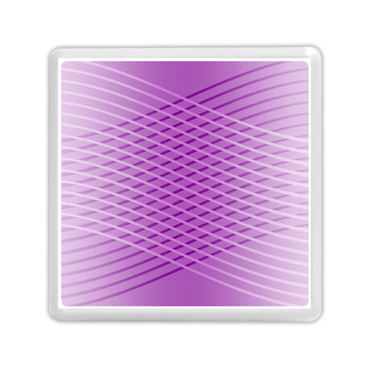 Abstract Lines Background Pattern Memory Card Reader (Square)