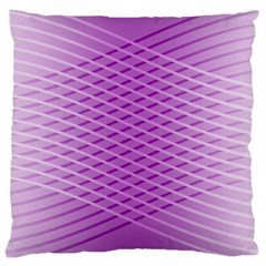 Abstract Lines Background Pattern Large Cushion Case (one Side)