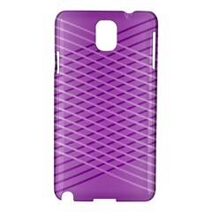Abstract Lines Background Pattern Samsung Galaxy Note 3 N9005 Hardshell Case by Simbadda