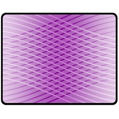Abstract Lines Background Pattern Double Sided Fleece Blanket (medium)