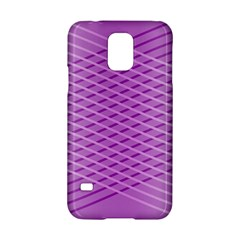 Abstract Lines Background Pattern Samsung Galaxy S5 Hardshell Case