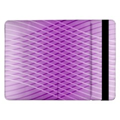 Abstract Lines Background Pattern Samsung Galaxy Tab Pro 12 2  Flip Case by Simbadda