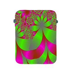 Green And Pink Fractal Apple Ipad 2/3/4 Protective Soft Cases
