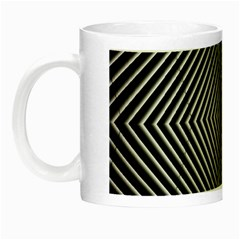 Abstract Of Shutter Lines Night Luminous Mugs by Simbadda