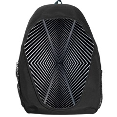Abstract Of Shutter Lines Backpack Bag by Simbadda