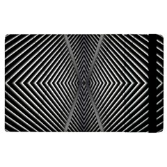 Abstract Of Shutter Lines Apple Ipad 2 Flip Case by Simbadda