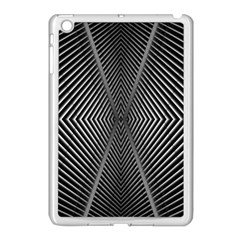 Abstract Of Shutter Lines Apple Ipad Mini Case (white) by Simbadda