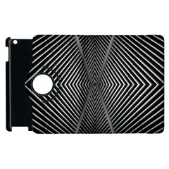 Abstract Of Shutter Lines Apple Ipad 3/4 Flip 360 Case