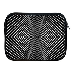 Abstract Of Shutter Lines Apple Ipad 2/3/4 Zipper Cases