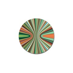 Colorful Spheric Background Golf Ball Marker (4 Pack) by Simbadda