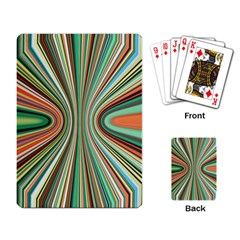 Colorful Spheric Background Playing Card by Simbadda