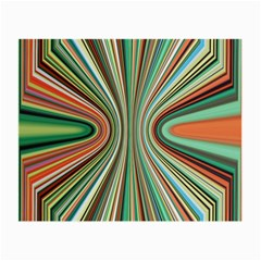 Colorful Spheric Background Small Glasses Cloth (2 Side) by Simbadda