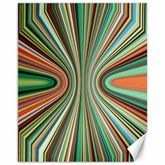 Colorful Spheric Background Canvas 11  X 14