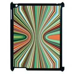 Colorful Spheric Background Apple Ipad 2 Case (black) by Simbadda