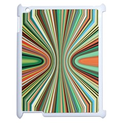 Colorful Spheric Background Apple Ipad 2 Case (white) by Simbadda