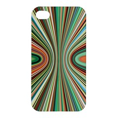 Colorful Spheric Background Apple Iphone 4/4s Premium Hardshell Case by Simbadda