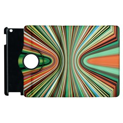 Colorful Spheric Background Apple Ipad 2 Flip 360 Case by Simbadda