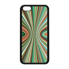 Colorful Spheric Background Apple Iphone 5c Seamless Case (black) by Simbadda