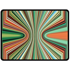 Colorful Spheric Background Double Sided Fleece Blanket (large)  by Simbadda