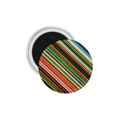 Colorful Stripe Background 1 75  Magnets