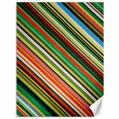 Colorful Stripe Background Canvas 36  X 48