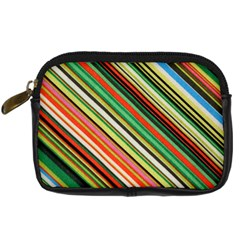 Colorful Stripe Background Digital Camera Cases