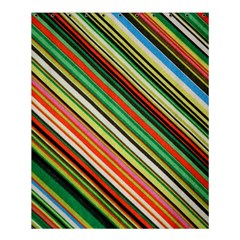 Colorful Stripe Background Shower Curtain 60  X 72  (medium)  by Simbadda
