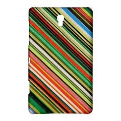 Colorful Stripe Background Samsung Galaxy Tab S (8 4 ) Hardshell Case