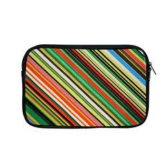 Colorful Stripe Background Apple Macbook Pro 13  Zipper Case by Simbadda
