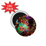 Alien World Digital Computer Graphic 1.75  Magnets (100 pack)  Front