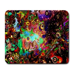 Alien World Digital Computer Graphic Large Mousepads by Simbadda