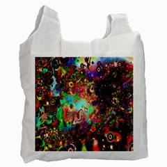 Alien World Digital Computer Graphic Recycle Bag (one Side) by Simbadda
