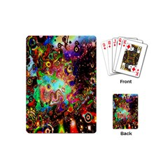 Alien World Digital Computer Graphic Playing Cards (mini)  by Simbadda