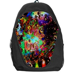 Alien World Digital Computer Graphic Backpack Bag by Simbadda