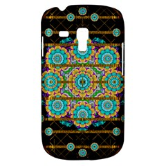 Gold Silver And Bloom Mandala Galaxy S3 Mini by pepitasart