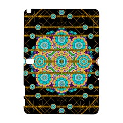 Gold Silver And Bloom Mandala Galaxy Note 1 by pepitasart