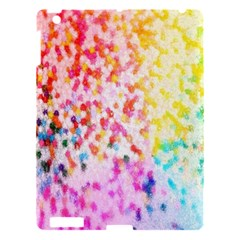 Colorful Colors Digital Pattern Apple Ipad 3/4 Hardshell Case by Simbadda
