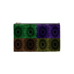 Creative Digital Pattern Computer Graphic Cosmetic Bag (small)