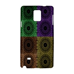 Creative Digital Pattern Computer Graphic Samsung Galaxy Note 4 Hardshell Case by Simbadda