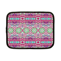 Colorful Seamless Background With Floral Elements Netbook Case (small)  by Simbadda