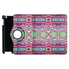 Colorful Seamless Background With Floral Elements Apple Ipad 3/4 Flip 360 Case by Simbadda