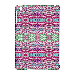 Colorful Seamless Background With Floral Elements Apple Ipad Mini Hardshell Case (compatible With Smart Cover) by Simbadda